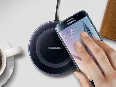 Cargador inalámbrico Samsung EP-PG920IB, para Galaxy S6 y S7, por 19,99 euros y envío gratis