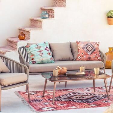 Nueve conjuntos de muebles de terraza de Sklum para llenar tu terraza de estilo y confort