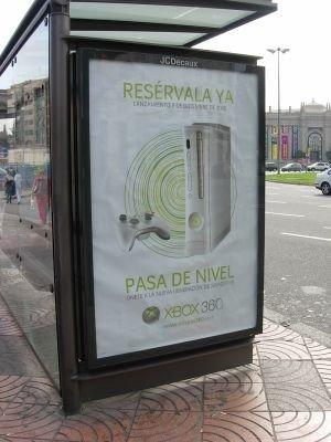 XBox 360: publicidad en la calle