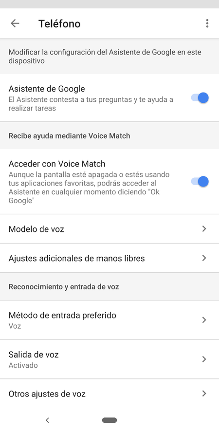 Voice Match Pixel 3