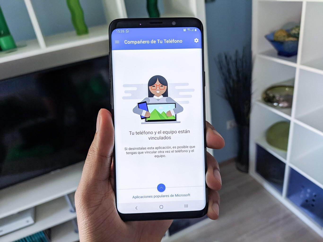 Cómo añadir el acceso directo 'Conexión con Windows' del Samsung Galaxy Note 10 en cualquier otro móvil Samsung