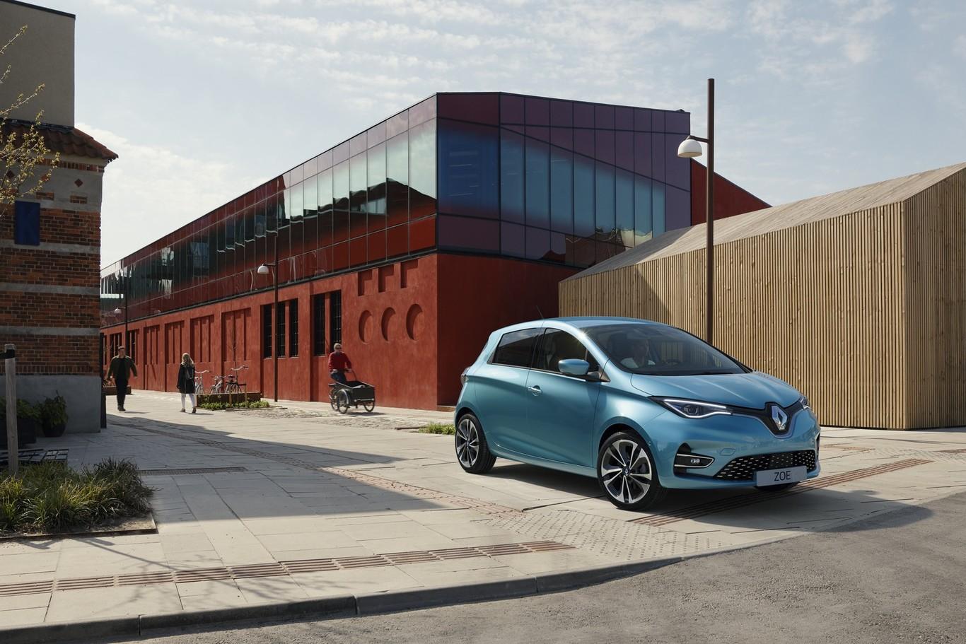 El Renault ZOE 2019 es el mismo coche eléctrico con más de todo: 135 CV, 390 km de autonomía y mejor...