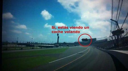Haciendo un backflip en 'Gran Turismo 5'