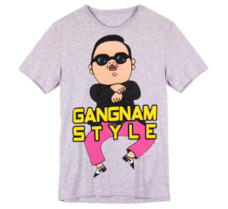 Las camisetas Gangnam Style llegan a Bershka: eh, sexy lady...