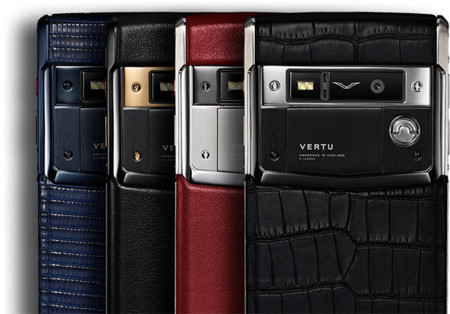 Vertu Leather Phones