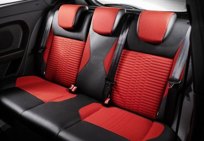 Asientos traseros Ford Fiesta ST