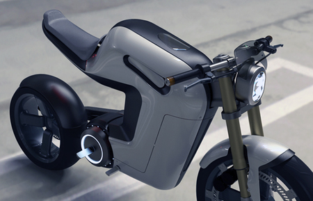 no solo moda - moto eléctrica