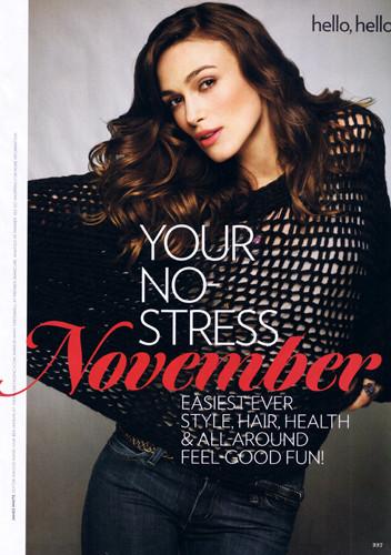 Foto de Keira Knightley en la Glamour USA de noviembre (5/6)