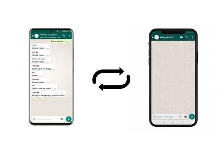 WhatsApp por fin permitirá pasar la copia de seguridad del historial de chats entre iOS y Android, según WABetaInfo
