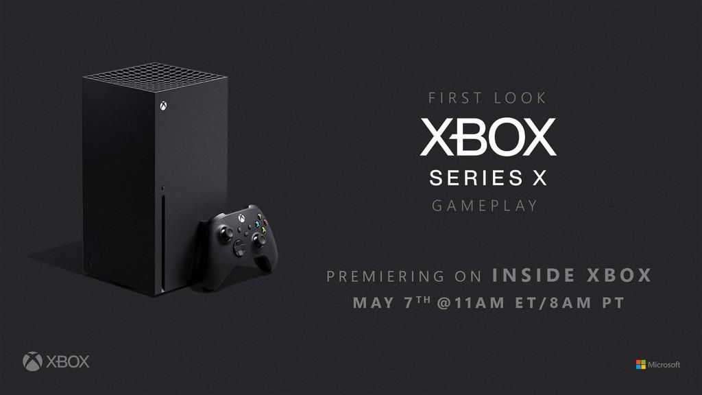 El 7 de mayo habrá un nuevo Inside Xbox donde se mostrará gameplay de los juegos de Xbox Series X