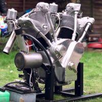 Y ahora un motor bicilíndrico de cinco litros