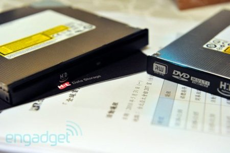 HyDrive, o cómo incluir memoria SSD en una unidad de discos ópticos