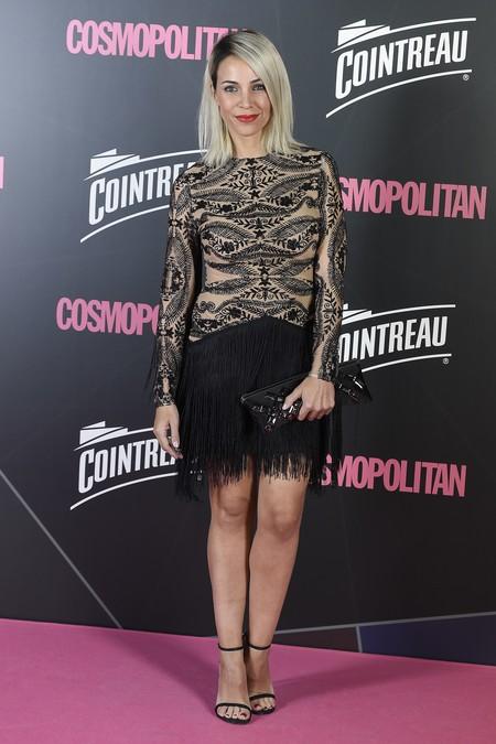 premios cosmopolitan 2017 alfombra roja look estilismo outfit Nerea Garmendia