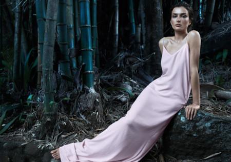 Mango rosa catalogo verano 2014 Andreea Diaconu