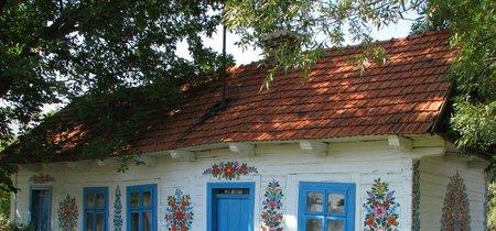 Zalipie, la ciudad polaca de las flores de colores