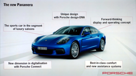 Porsche Panamera 2017 - concepto