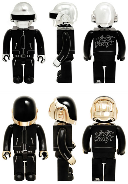 Daft Punk y sus toys de SILLY THING