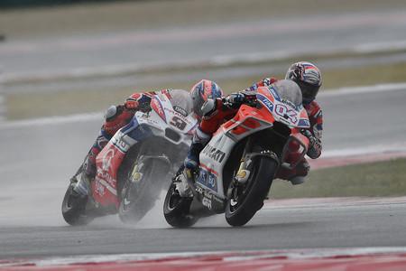 Ducati y sus misiles tierra-agua pescan un buen puñado de puntos bajo la lluvia de Misano