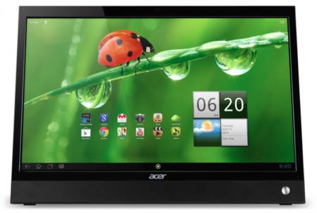 Acer apunta Android hacia su nuevo todo en uno táctil