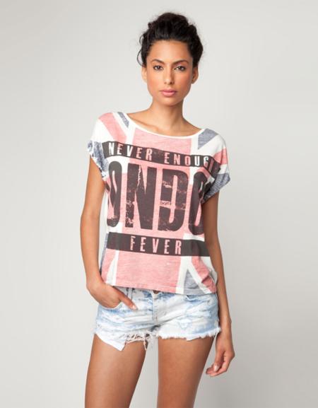 Bershka camiseta London