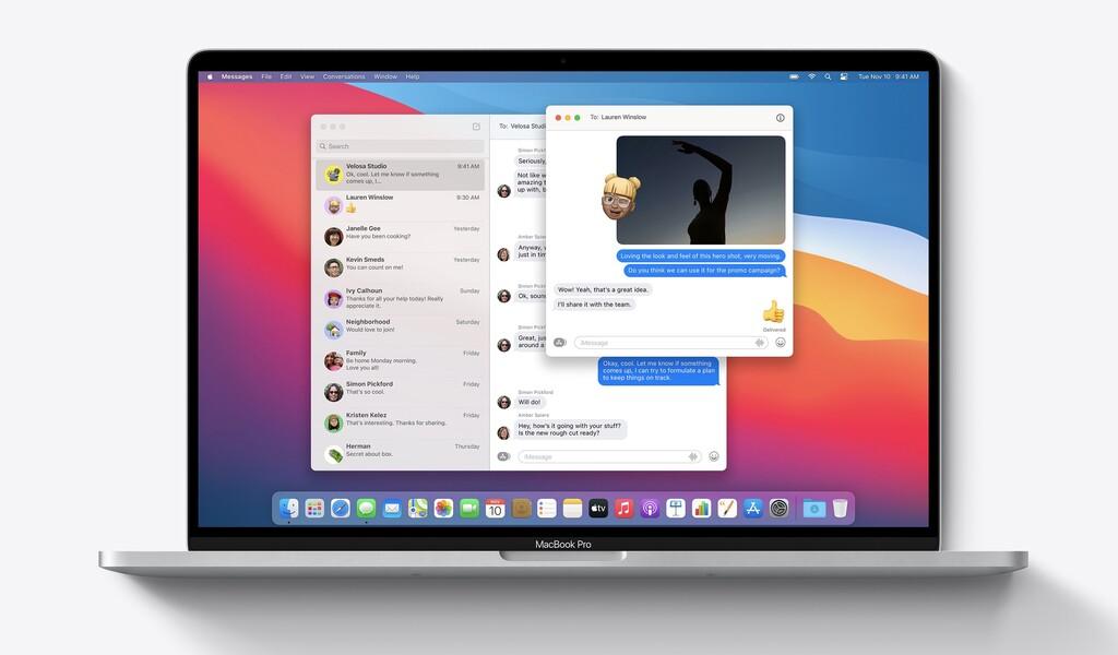 Apple lanza una versión(estable) revisada de macOS Big Sur 11.0.1 para algunos usuarios
