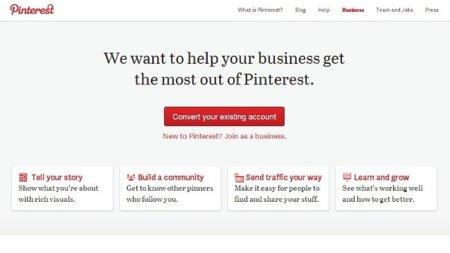 Pinterest presenta sus herramientas para empresas, incluyendo nuevos términos de uso