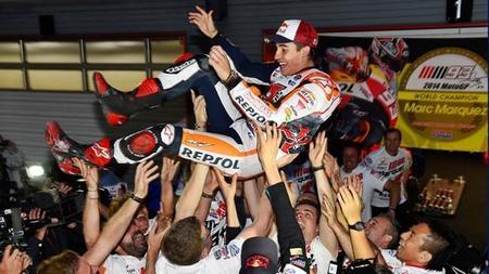La primera entrevista de Marc Márquez después de proclamarse bicampeón de MotoGP