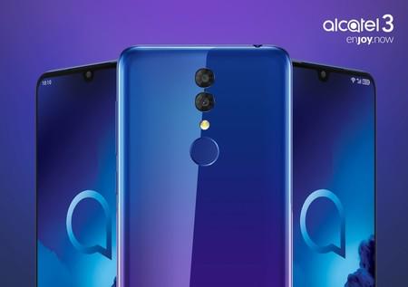 Alcatel 3 y 1S: esta nueva gama media-baja mantiene la doble cámara pero ahora gana un notch de gota