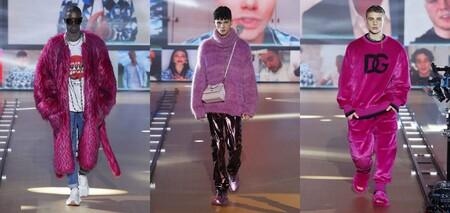 De Metal Maquillaje Color Y Efecto Glitch La Coleccion Fall Winter De Dolce Gabbana Fue Mas Digital De La Temporada 3