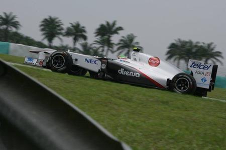 Sergio Perez tendrá que estrenar chasis en el Gran Premio de China