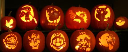 Calabazas Halloween Grupo Nintendo 2
