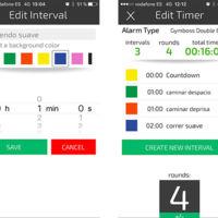 Cómo programar un entrenamiento por intervalos con una app gratuita para el reto Vitónica 5 kilómetros