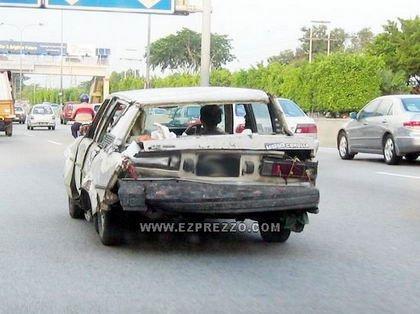 Un Toyota Corolla bien conservado
