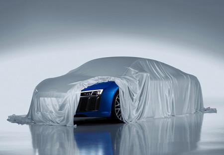 El Audi R8 2015 vuelva bajo en Ascari antes de Ginebra