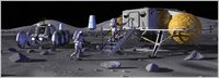 La NASA planea una base lunar habitada