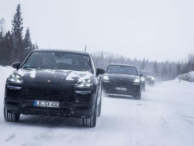 El nuevo Porsche Cayenne se presentará el 29 de agosto y ya ha sido probado en climas extremos
