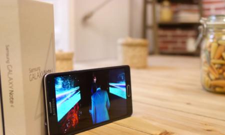 Samsung Galaxy Note 4 análisis pantalla