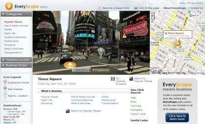EveryScape: tours urbanos virtuales en 360º