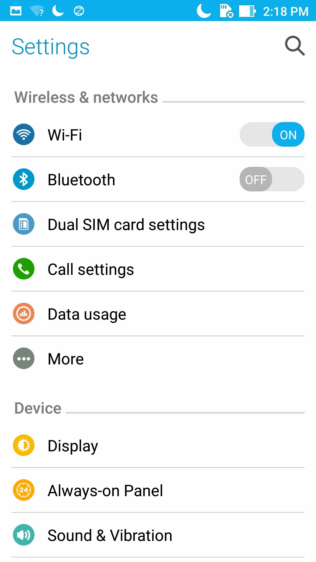 Zenfone 3 Deluxe Interfaz