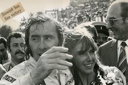 Detalles para un Gentleman Driver (III) Libro Collage de Jackie Stewart. Pura Fórmula 1