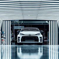 El nuevo Toyota GR Yaris, más cerca: el Yaris de rally para la calle de 261 CV entra en producción y llegará a finales de 2020