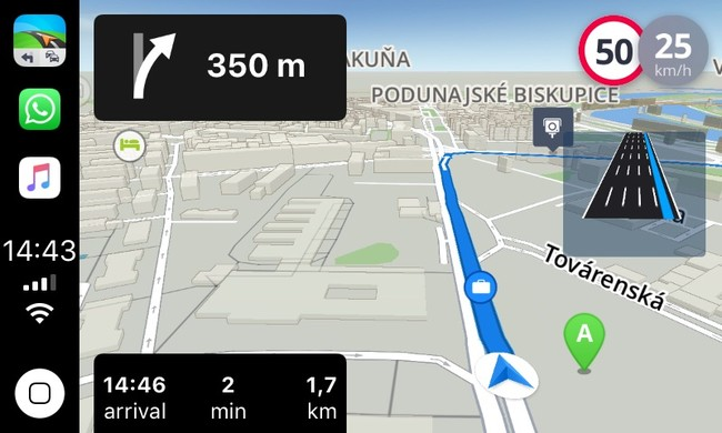Sygic también apunta sus mapas a CarPlay con iOS 12