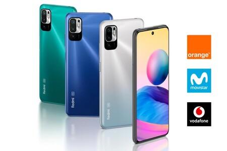 Dónde comprar el Xiaomi Redmi Note 10 5G más barato: comparativa ofertas con Movistar, Vodafone, Orange y Yoigo