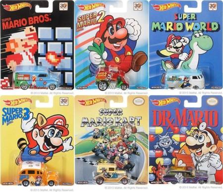 Mario Bros Hot Wheels