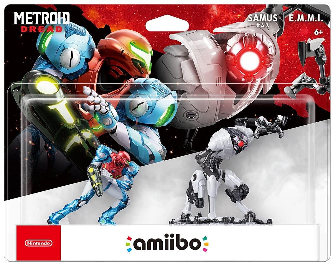 Preventa: Metroid Dread amiibo Pack con Samus Aran y E.M.M.I.