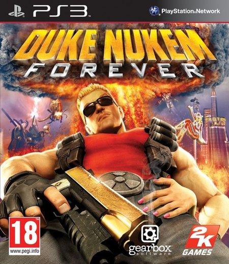 Duke Nukem Forever - Portada PS3