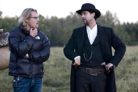 Andrew Dominik con Brad Pitt