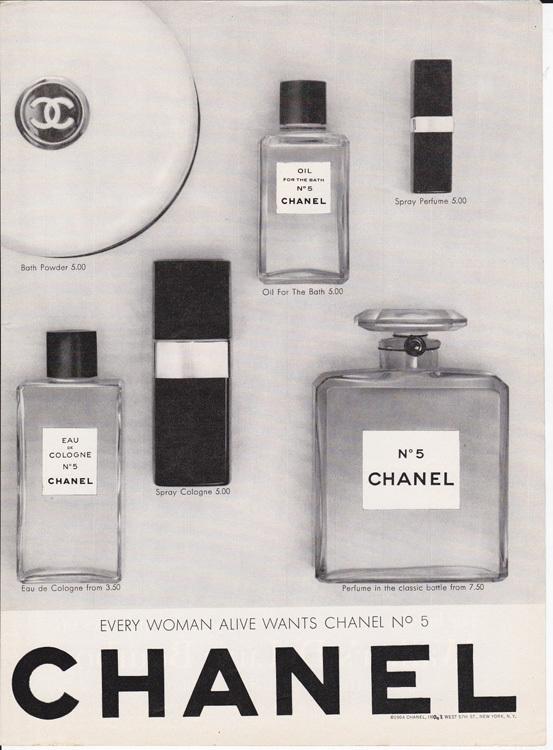 Foto de Chanel No. 5 - publicidad del 30 al 60 (32/61)