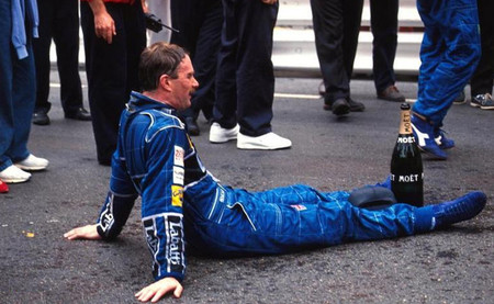 Nigel Mansell 1992 Mónaco