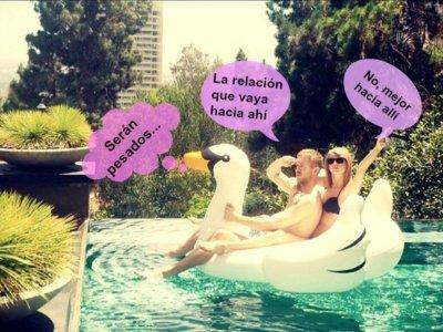 Taylor Swift y Calvin Harris se dicen adiós y Verónica Echegui grita su amor a los cuatro vientos